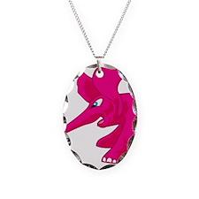 elephant_tug_keych_PinkB Necklace