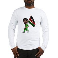 3D Kenya Long Sleeve T-Shirt
