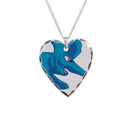 elephant_tug_keych_BlueF Necklace Heart Charm
