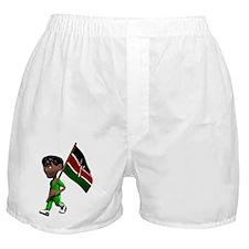 3D Kenya Boxer Shorts