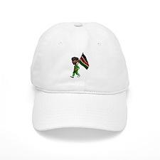3D Kenya Baseball Cap
