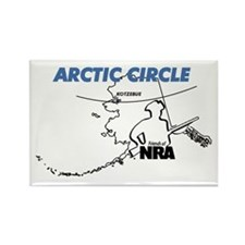 Friends of NRA Rectangle Magnet