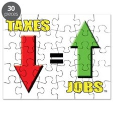 Taxes down jobs up Puzzle