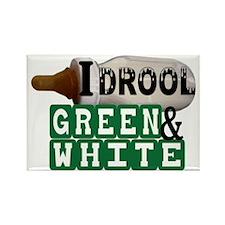 green  white.gif Rectangle Magnet