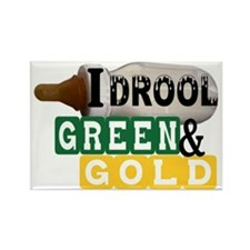 green  gold.gif Rectangle Magnet