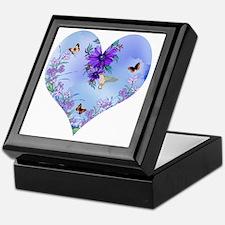 Blueheart Keepsake Box