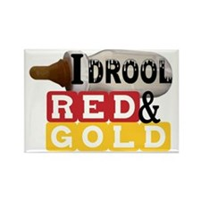 red  gold.gif Rectangle Magnet