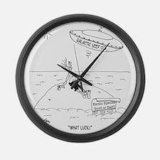7316_crop_cartoon Large Wall Clock