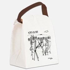 3931_horticulture_cartoon Canvas Lunch Bag