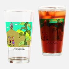 7317_botany_cartoon Drinking Glass