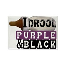 purple  black.gif Rectangle Magnet