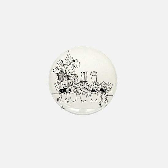 3277_plant_cartoon Mini Button