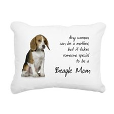 Beagle Mom Purse Rectangular Canvas Pillow