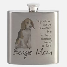 Beagle Mom Flask