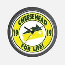 cheeseheadforlife1919 Wall Clock