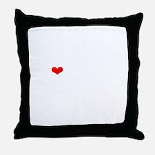 NYMM-wt Throw Pillow