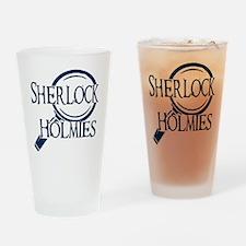 sherlock holmies Drinking Glass