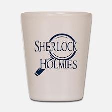 sherlock holmies Shot Glass