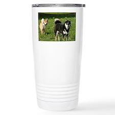 cal_shiba_cover Travel Mug