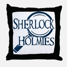 sherlock holmies Throw Pillow