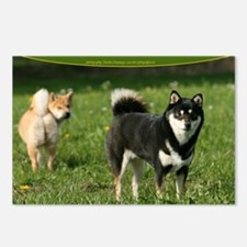 cal_shiba_cover Postcards (Package of 8)
