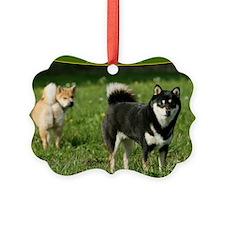 cal_shiba_cover Ornament