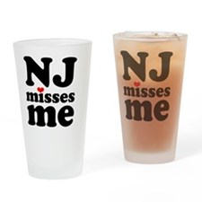 NJMM-sm Drinking Glass