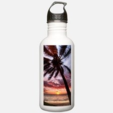 maui hawaii coconut pa Water Bottle
