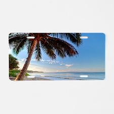 Maui Paradise Beach Hawaii  Aluminum License Plate