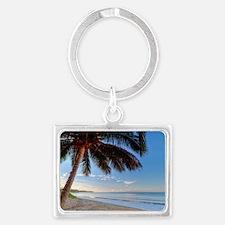 Maui Paradise Beach Hawaii 3 Landscape Keychain