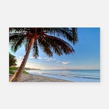 Maui Paradise Beach Hawaii 3 Rectangle Car Magnet