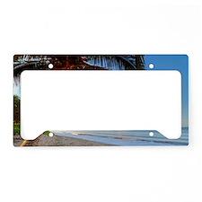 Maui Paradise Beach Hawaii 3 License Plate Holder