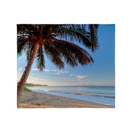 Maui Paradise Beach Hawaii 3 Throw Blanket