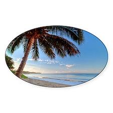 Maui Paradise Beach Hawaii 3 Decal