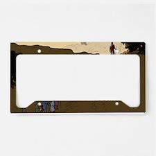 postcard_cyt_lent License Plate Holder