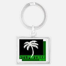 my logo bi Landscape Keychain