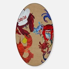 Crabby Cook Decal