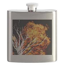 burning tree2 Flask