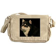 cal_shiba_dec Messenger Bag