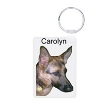 carolyn mug Aluminum Photo Keychain