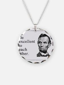 beexcellent2 Necklace