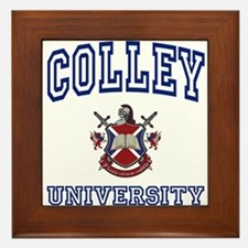 COLLEY University Framed Tile