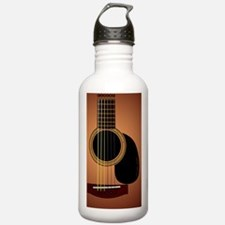 acousticguitar-Sunburs Water Bottle