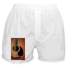 acousticguitar-Sunburst_GreetingCard Boxer Shorts