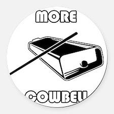 morecowbell Round Car Magnet