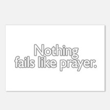 nothing fails like prayer  Postcards (Package of 8