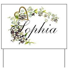 Sophia Yard Sign
