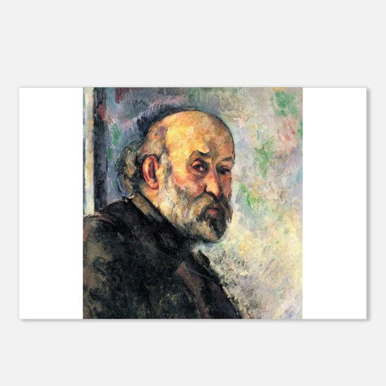 Self Portrait - Paul Cezanne - c1895 Postcards (Pa