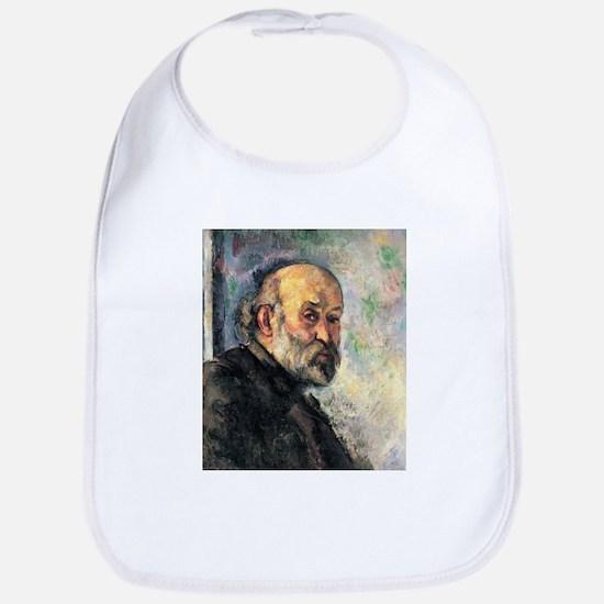 Self Portrait - Paul Cezanne - c1895 Cotton Baby B