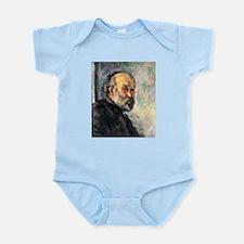 Self Portrait - Paul Cezanne - c1895 Baby Light Bo